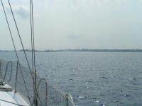 Approaching Nassau Harbour